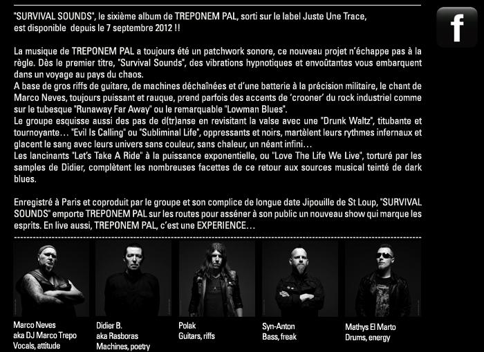 TREPONEM PAL on facebook http://www.facebook.com/treponempal